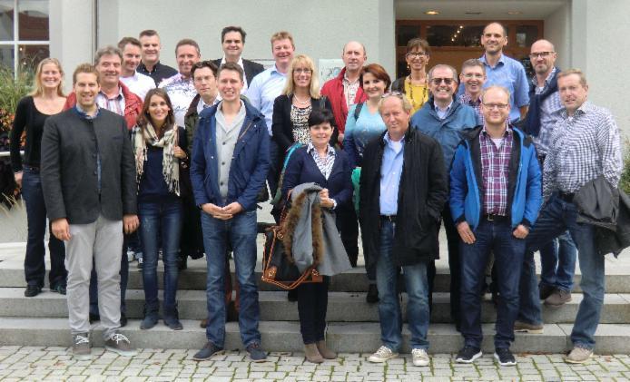 Die Teilnehmer des Jahrestreffens 2014
