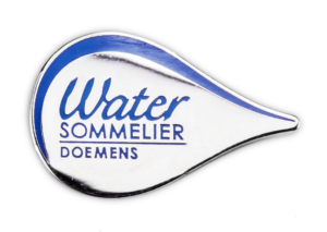 Water Sommelier Pin of the association's members