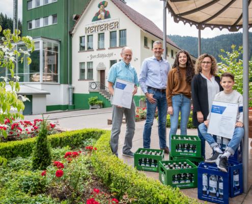 Fam. Ketterer/Hornberger Lebensquell WSU's new sustaining member
